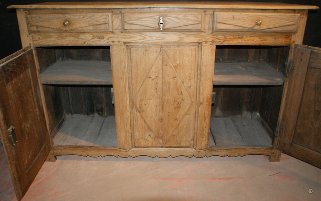 Faded Oak Enfilade