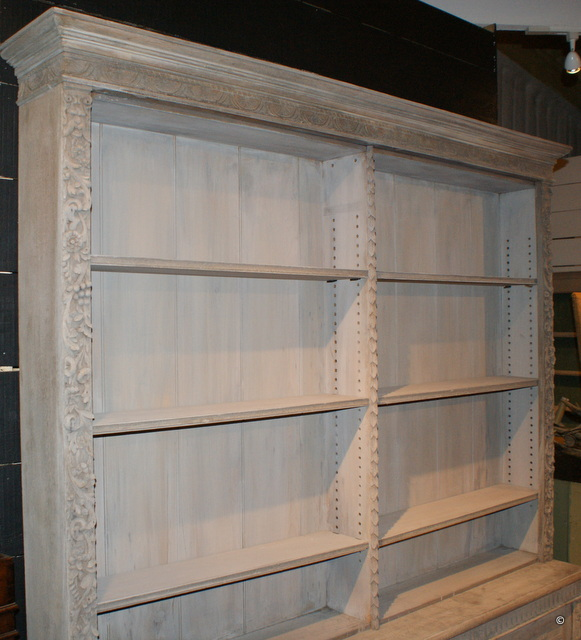 Bleached Continental Bookcase