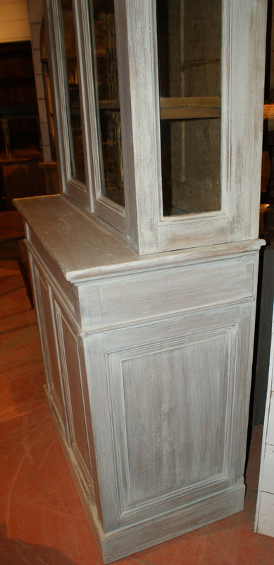Painted Glazed Bookcase