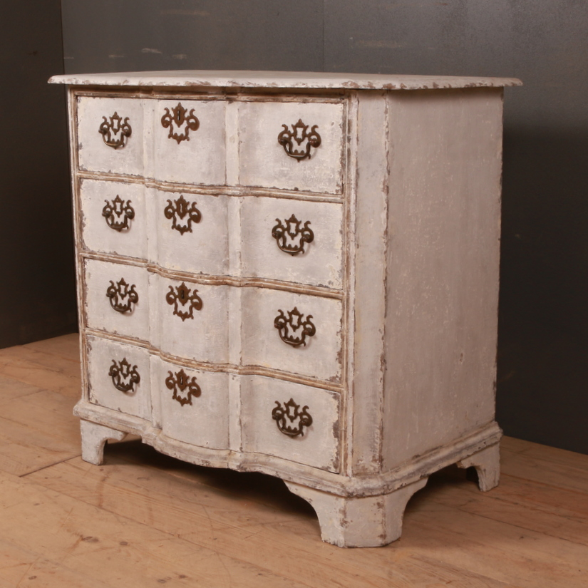 Dutch Serpentine Commode