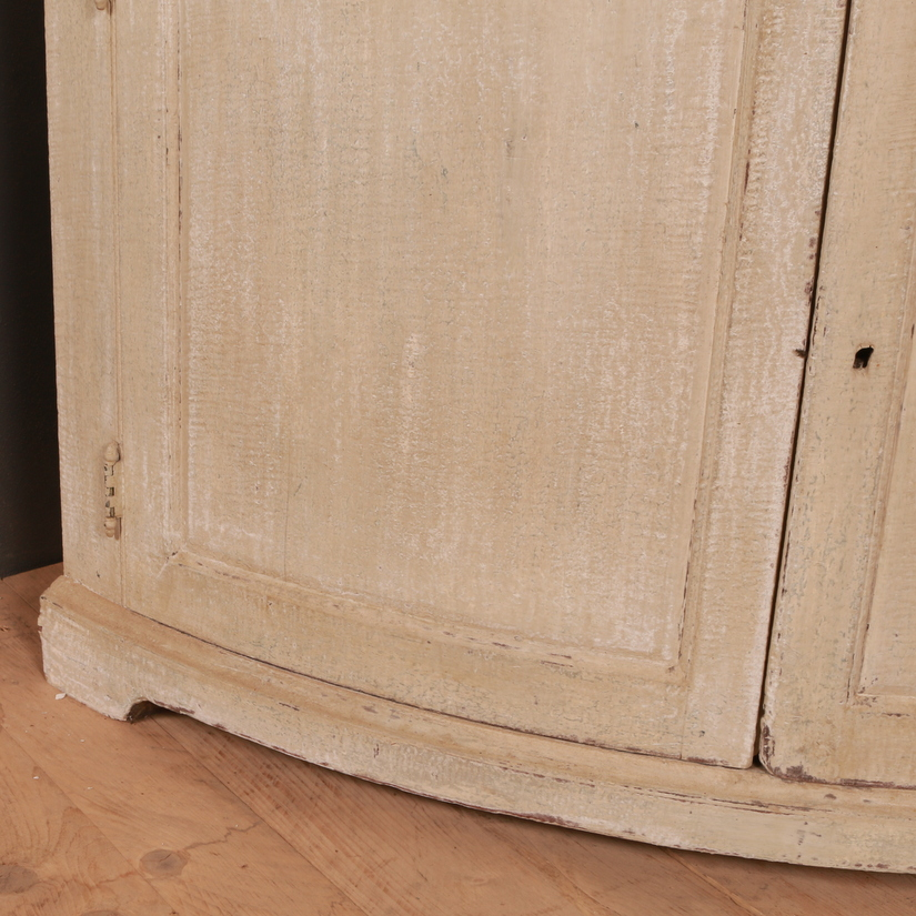 English Country House Corner Cupboard