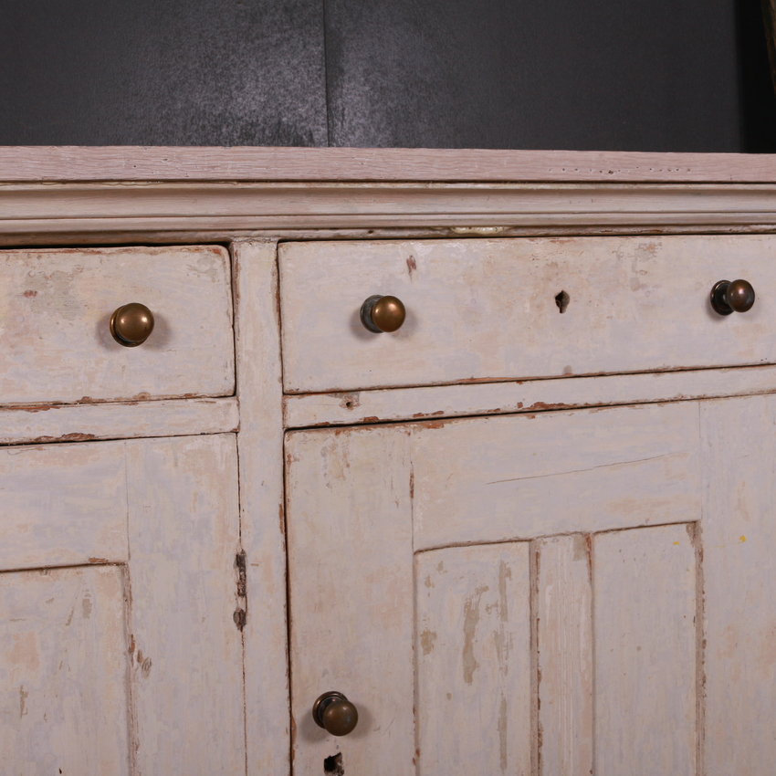English Original Painted Dresser Base