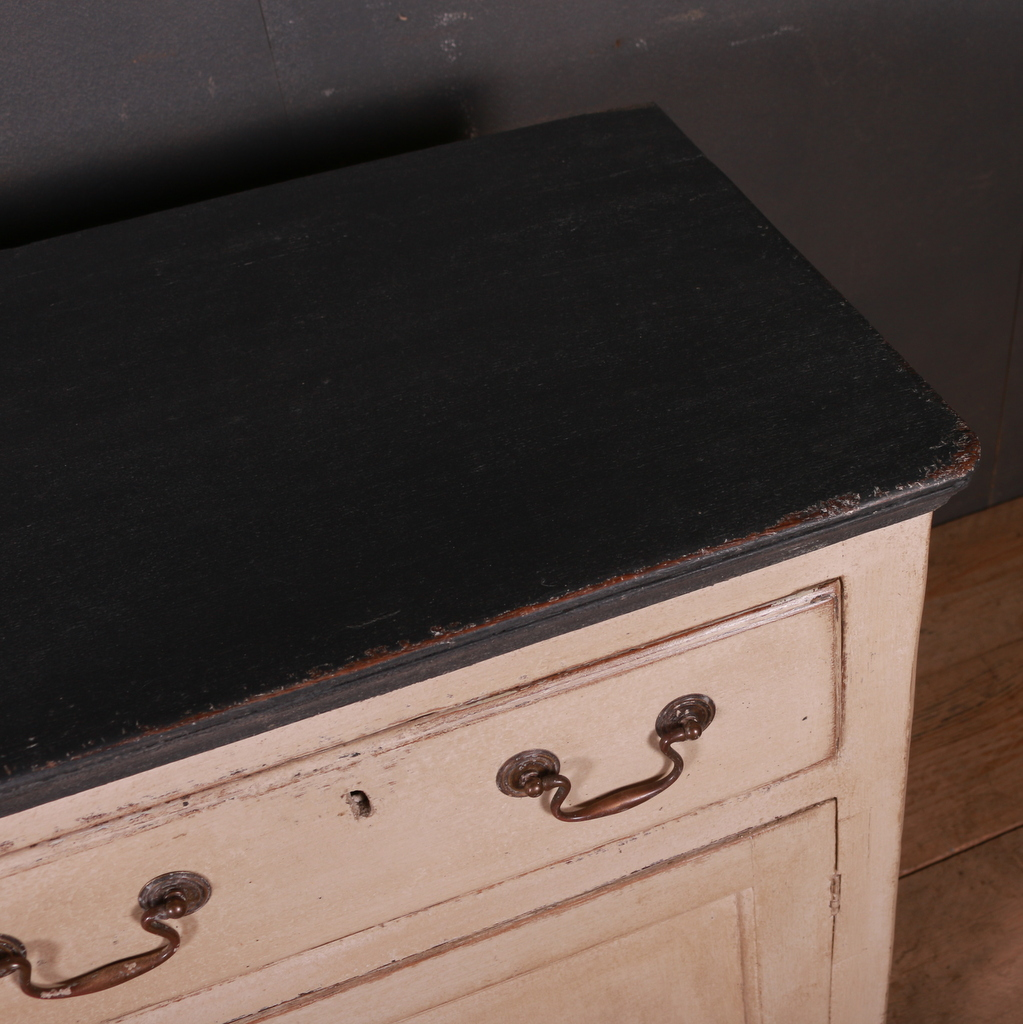 English Painted Dresser Base