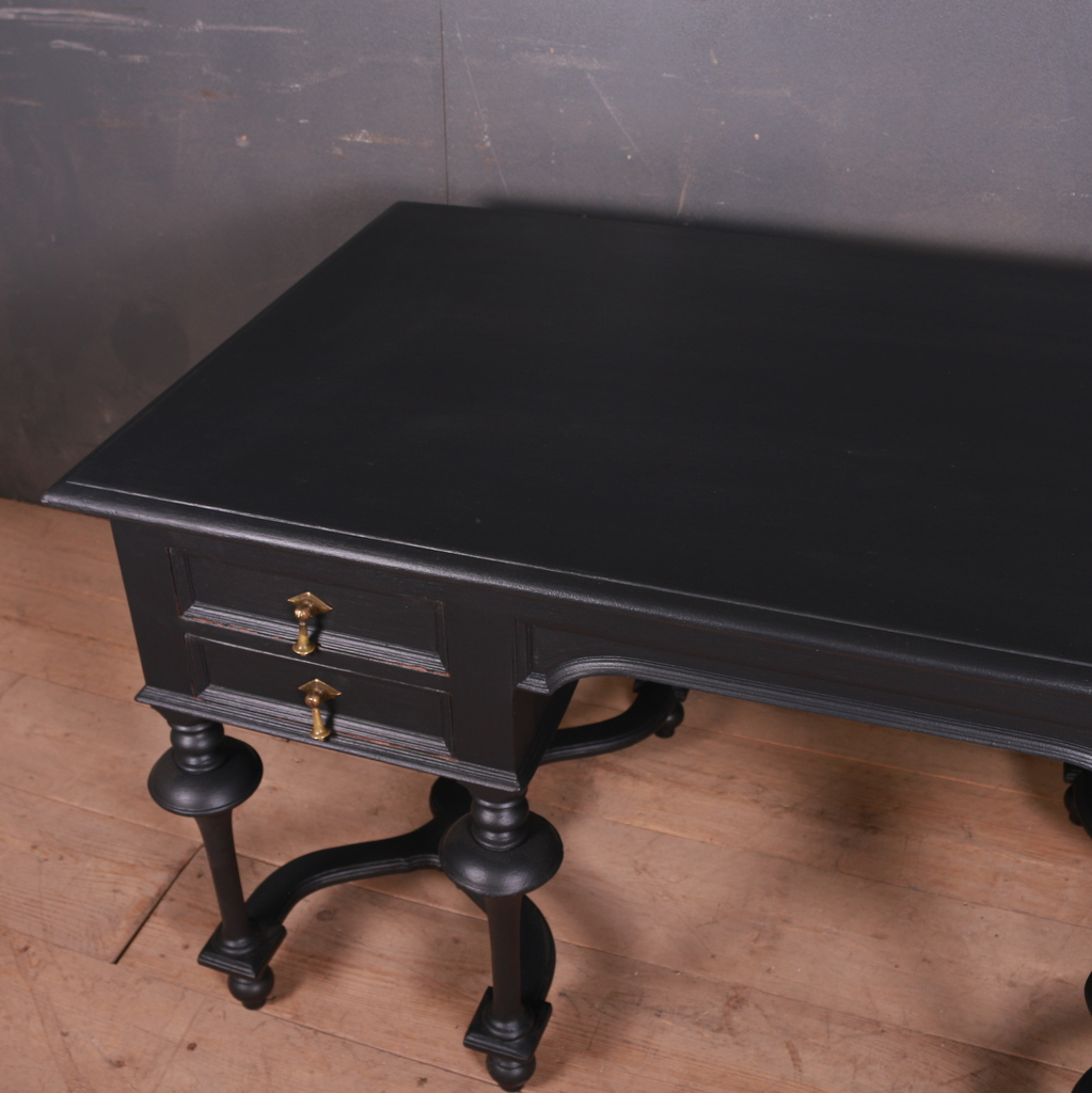 French Ebonized Desk