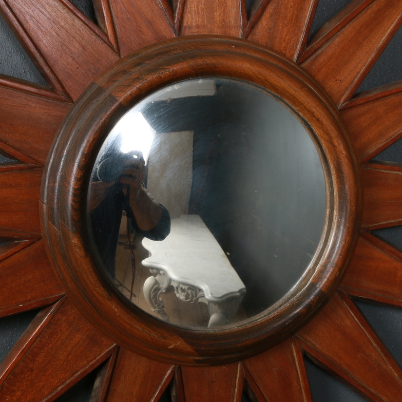 French Sunburst Mirror