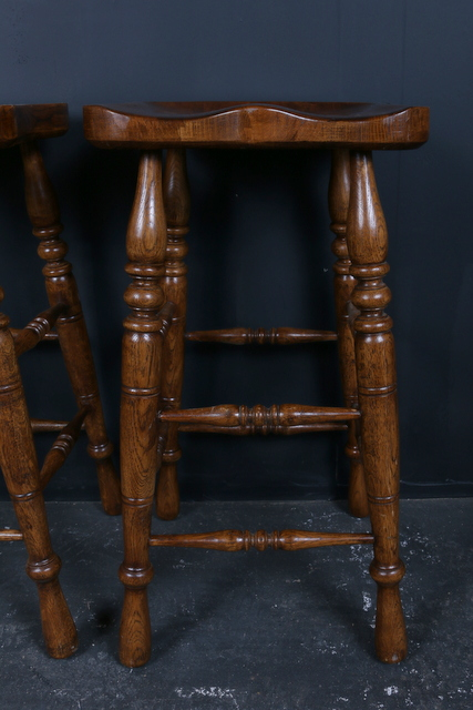 Elm and Ash Bar Stools