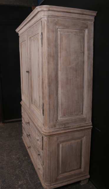 Antique French Linen Cupboard