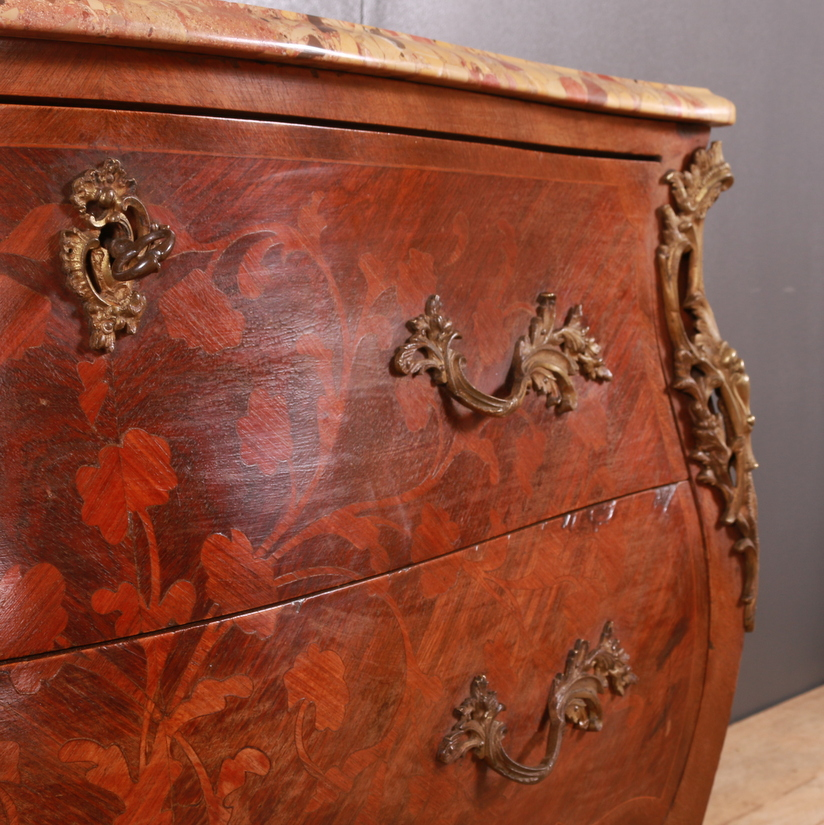 French Bombe Shaped Commode