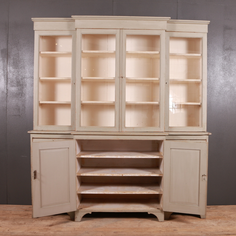 Breakfront Bookcase