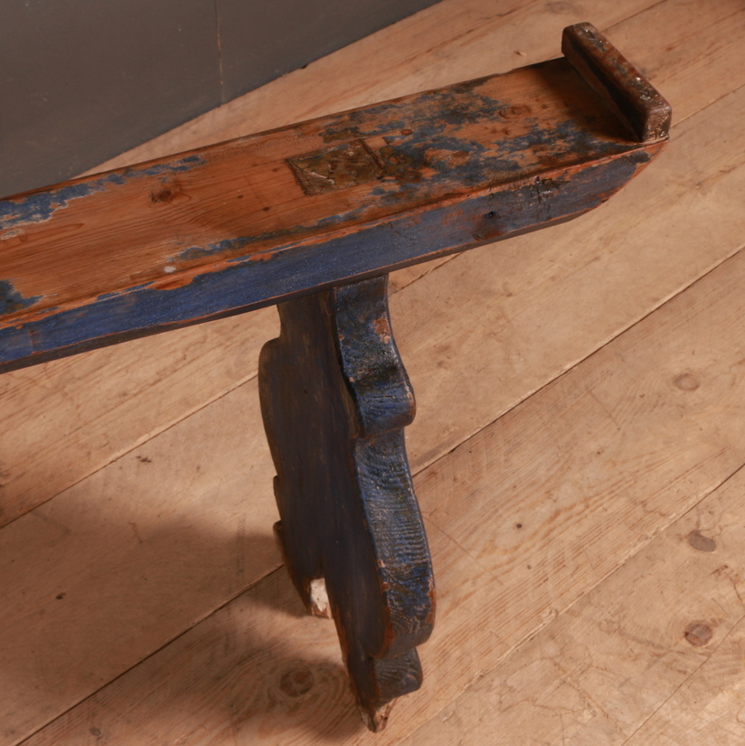 Italian Original Painted Bench