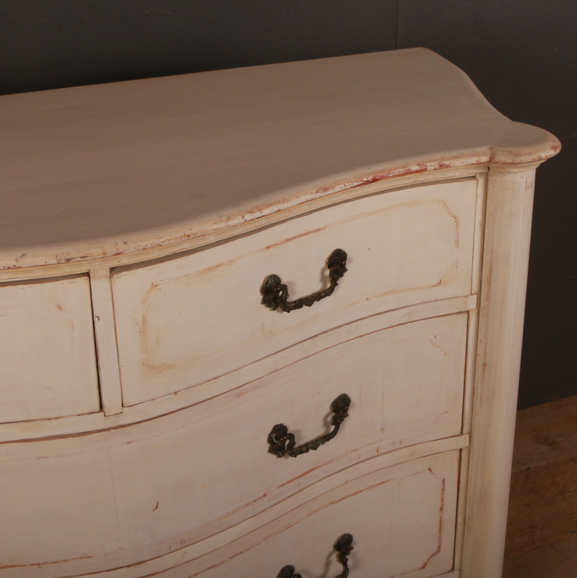 Italian Serpentine Front Commode