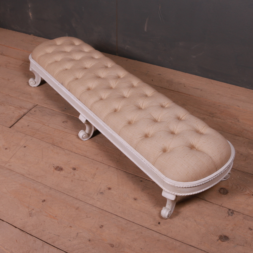 Low French Footstool