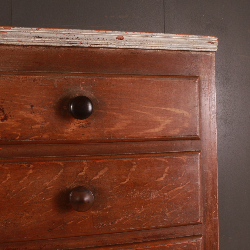 Original Painted English Cupboard