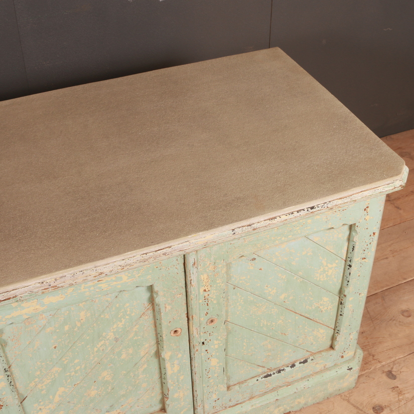 Original Painted Low Dresser Base