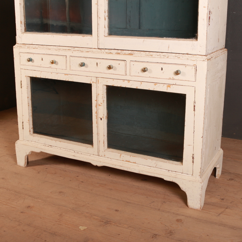 Pair of Country House Glazed Bookcases