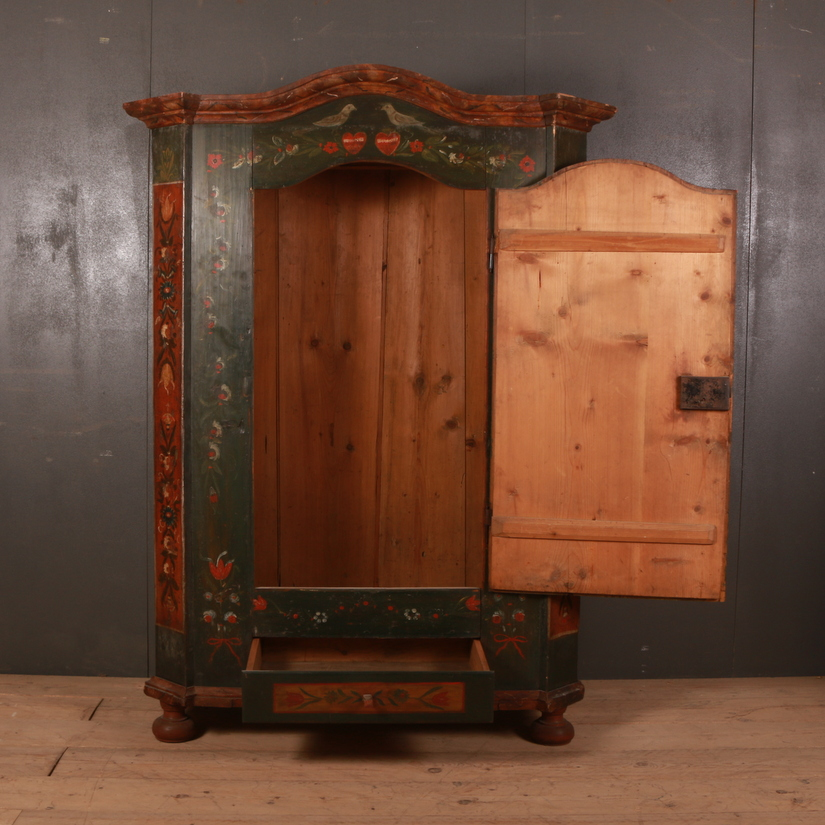 Austrian Marriage Armoire