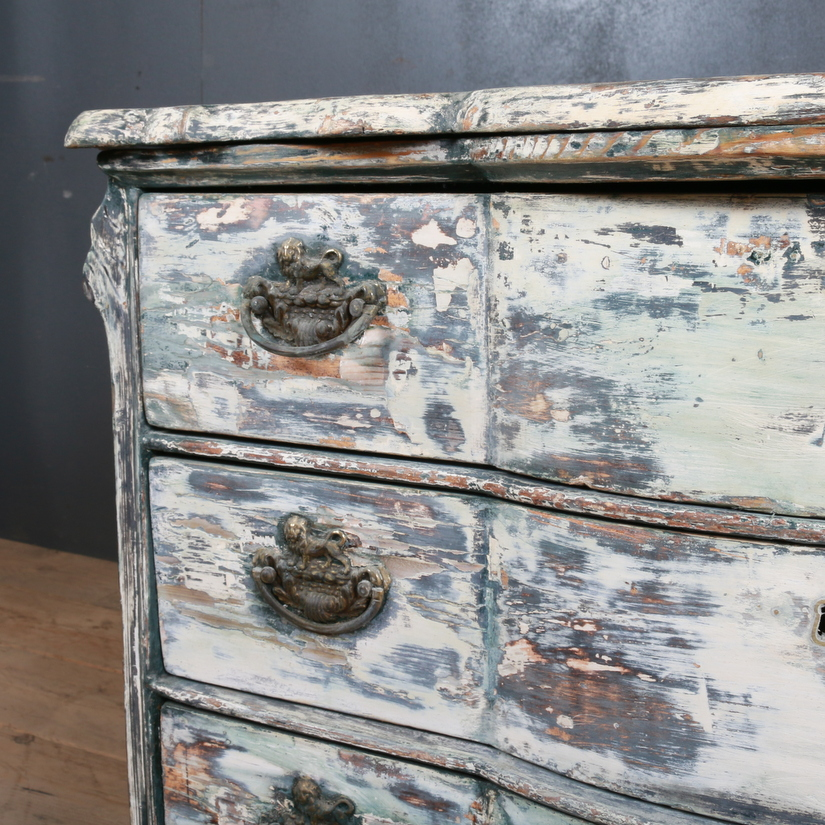 Dutch Bowfront Commode