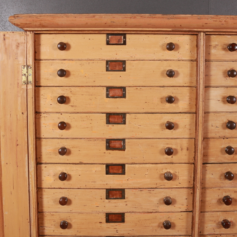 English Bank of Drawers