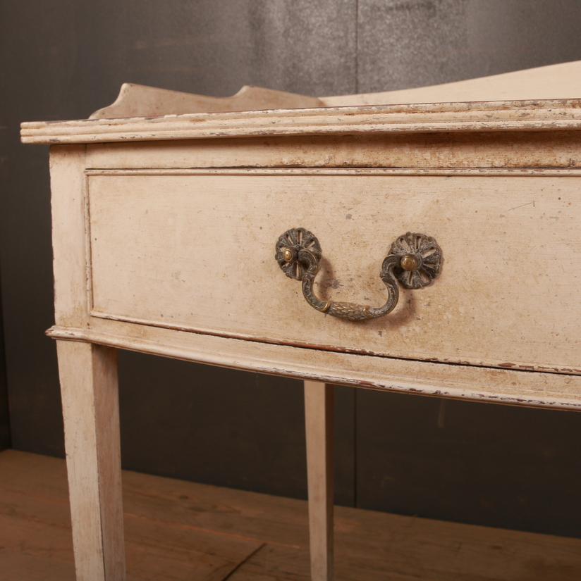 English Bowfront Desk