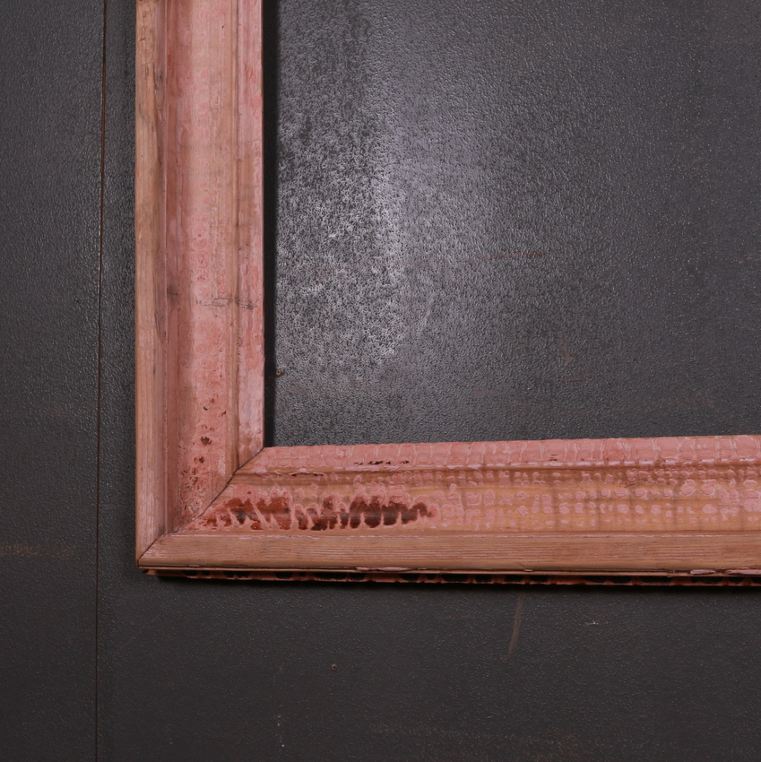 English Original Painted Mirror Frame