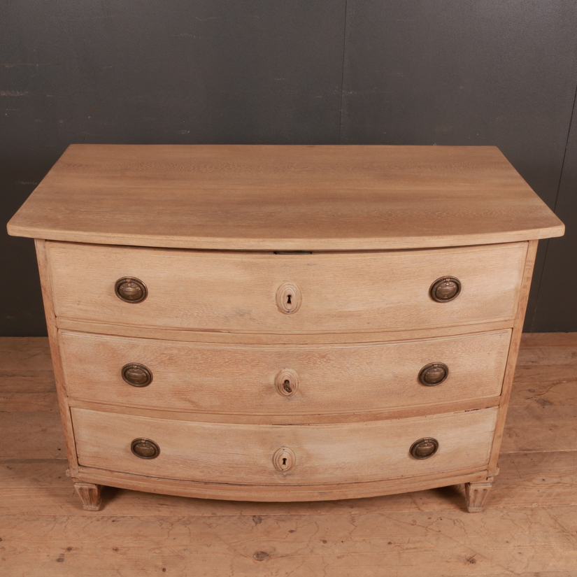 French Bow Front Commode