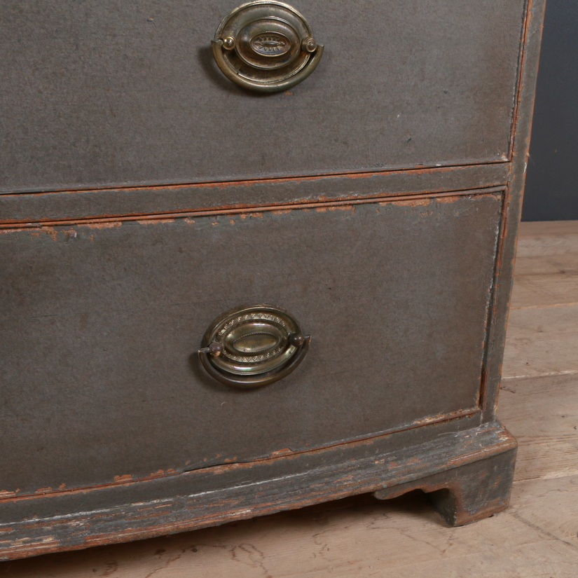 Geo III Bowfront Chest of Drawers