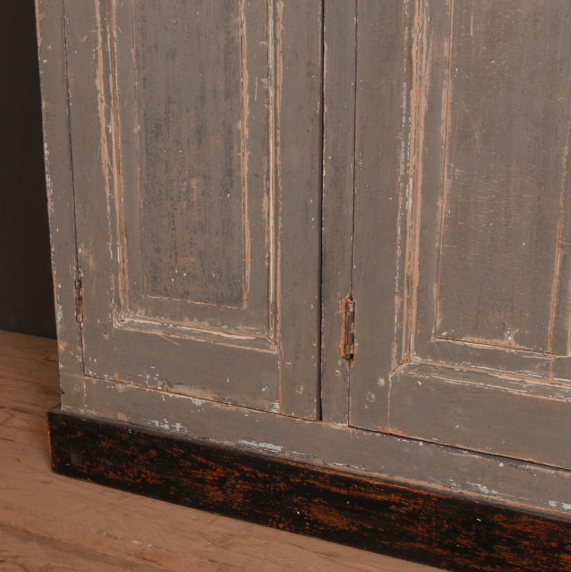 Original Painted French Cupboard