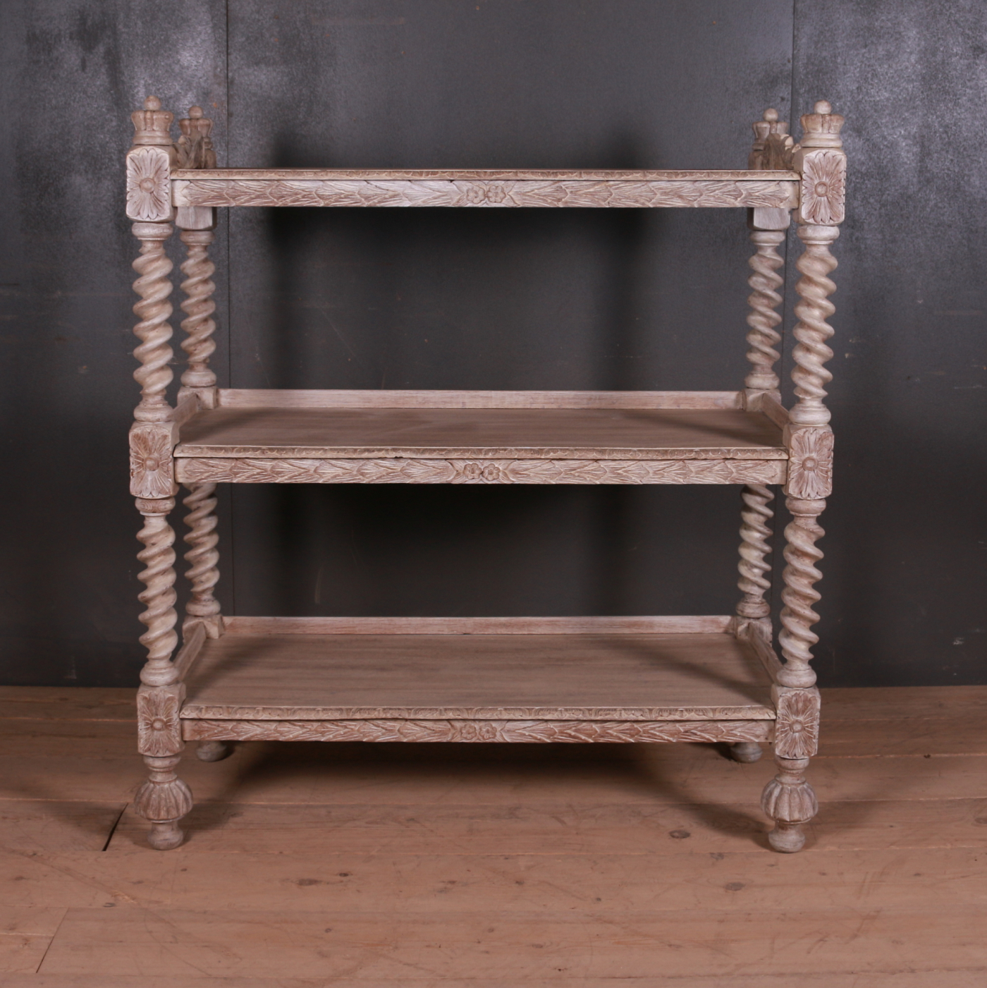 English Bleached Oak Buffet