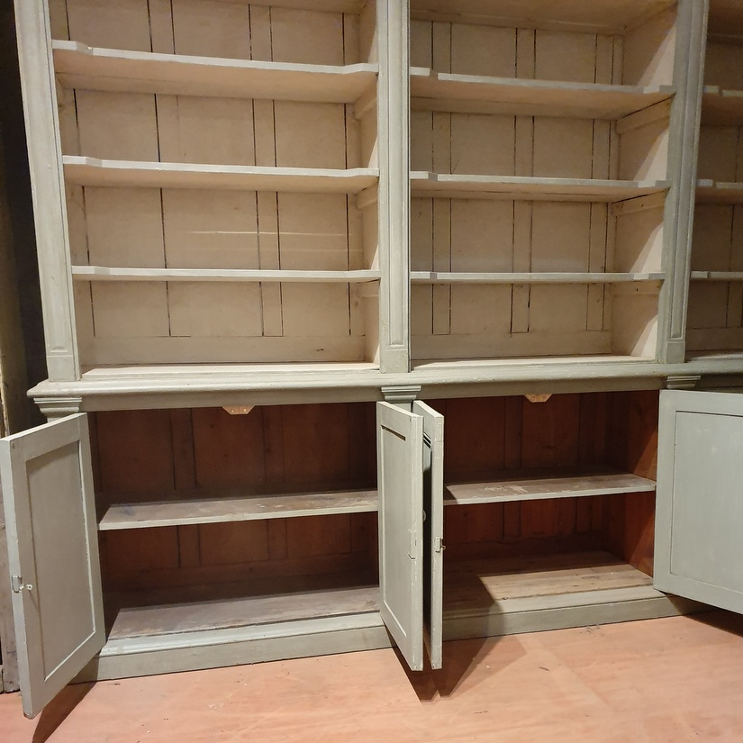 Exceptional Irish Bookcase