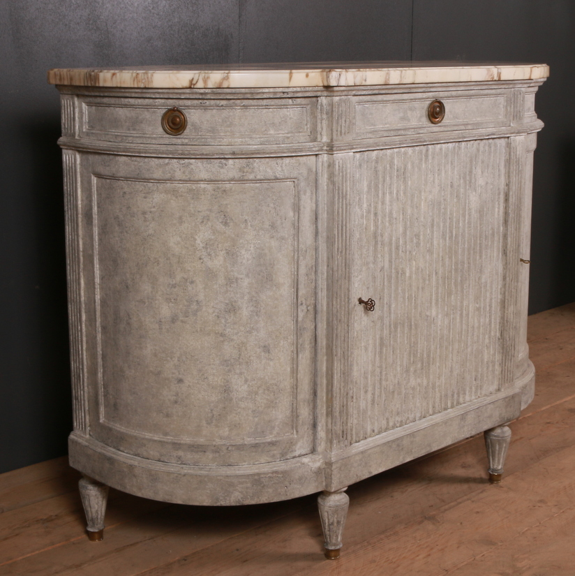 French Painted Credenza