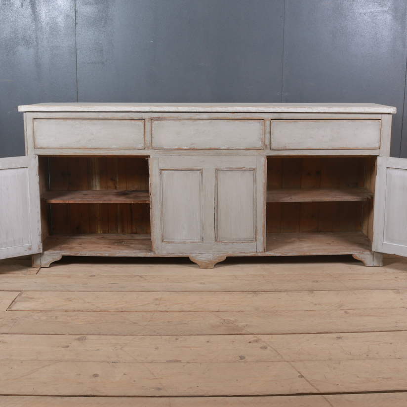 Narrow English Dresser Base
