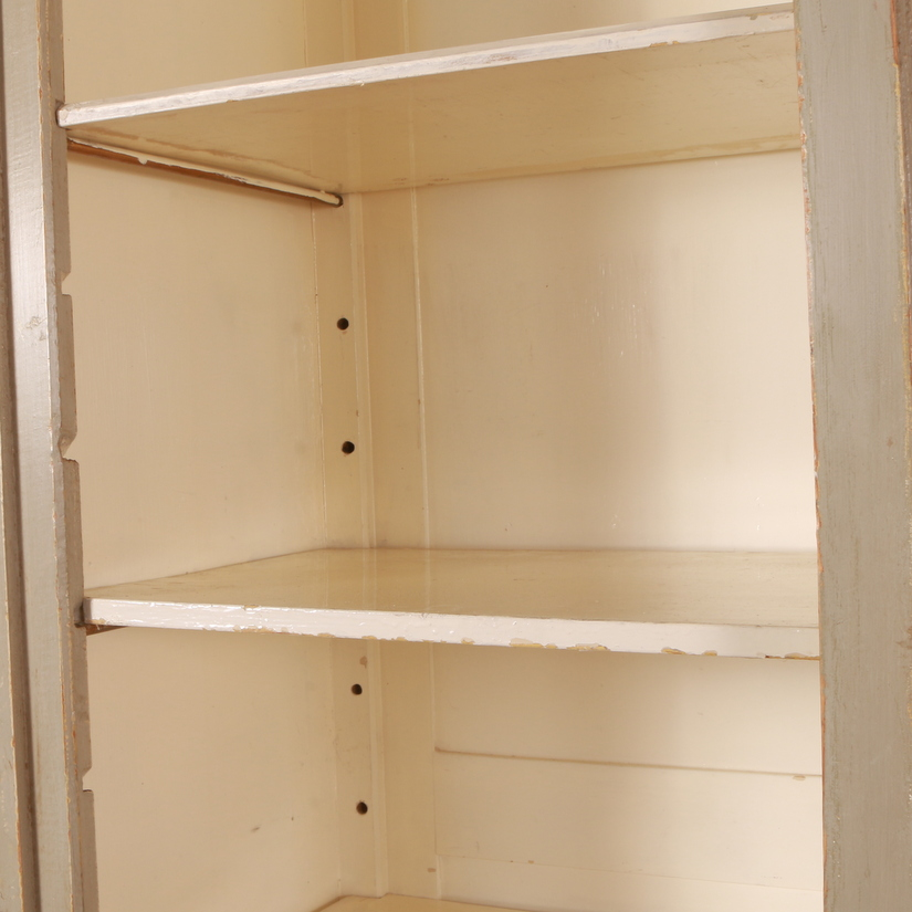 Danish Glazed Display Cupboard
