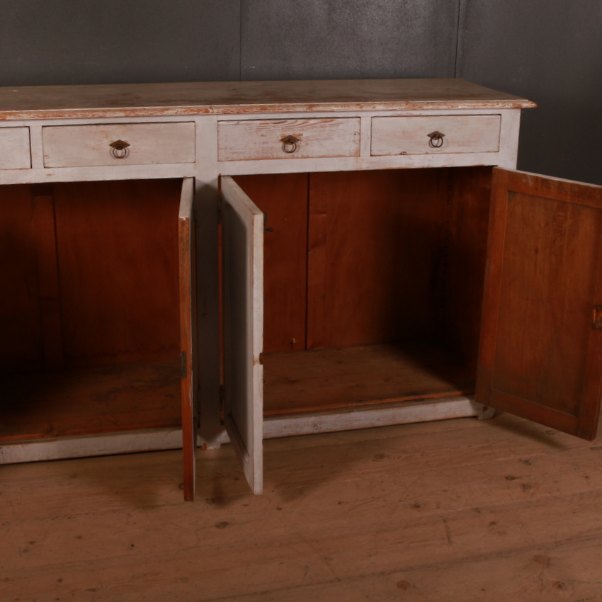 French Painted Enfilade / Sideboard