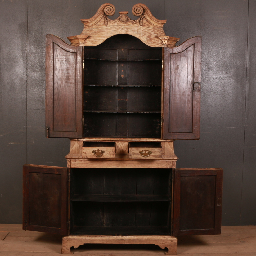Dutch Oak Food Cupboard