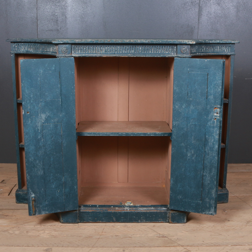 Painted Pine Side Cabinet