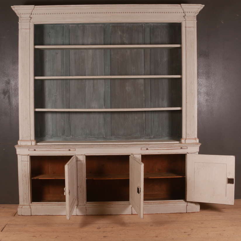 Architectural English Bookcase