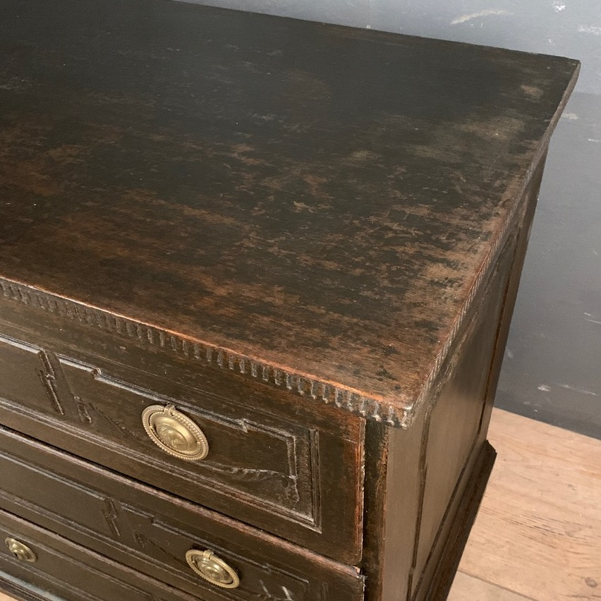 Austrian Carved and Painted Commode