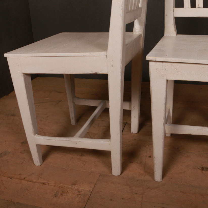 Set of 8 Swedish Dining Chairs